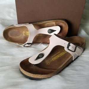 Birckenstock Sandal Size 36 Pale Pink